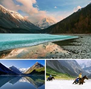 К подножию горы Белухи, Алтай