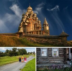 Жиописные уголки России - 4- Наедине со сказкой Кижей
