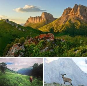 Жиописные уголки России - 7 - Через горы Кавказа к Черному морю