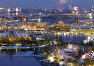 А после вернуться в Стокгольм и встретить там Новый год