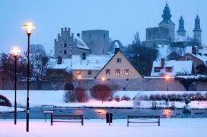 Висбю на острове Готланд — наиболее сохранившийся средневековый город в Скандинавии