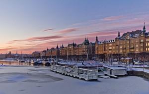 Набережная в Стокгольме