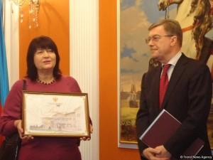 В Баку вручили литературную премию посла России 1