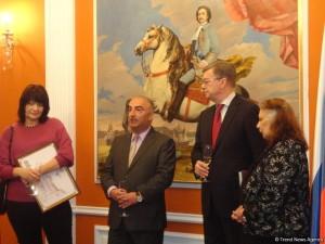 В Баку вручили литературную премию посла России 2