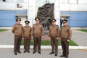 Амиль Агамалиев с коллегами из Азербайджана