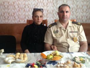 Амиль Агамалиев с супругой