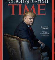 Журнал Time присудил звание «Человека года-2016» Дональду Трампу, как «президенту разъединенных штатов Америки»