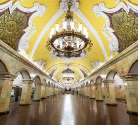 Московский метрополитен готовят к Кубку конфедераций