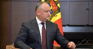 Додон заявил об опасности резолюции Генассамблеи ООН по Приднестровью