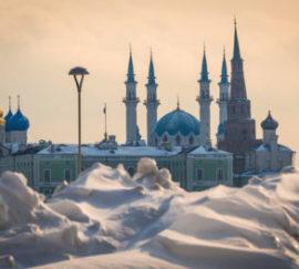 Казань попала в топ-10 направлений для путешествий на Новый год
