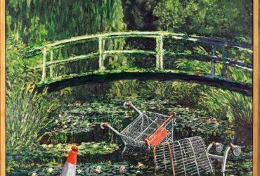 Картину Бэнкси Show Me The Monet продали на аукционе в Лондоне почти за $10 млн
