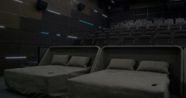 В Калининграде открывается кинотеатр с кроватями и массажными креслами